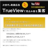 動画広告True View